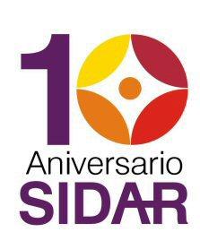logo del sidar 10 años